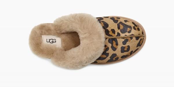 UGG Scuffette II Leopard Damen Hausschuh