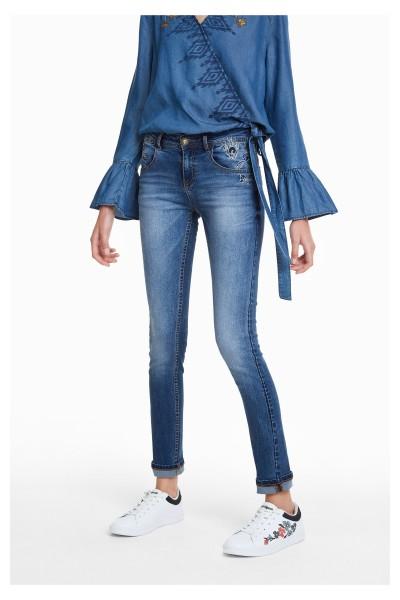 Desigual Refriposas Damen Jeans