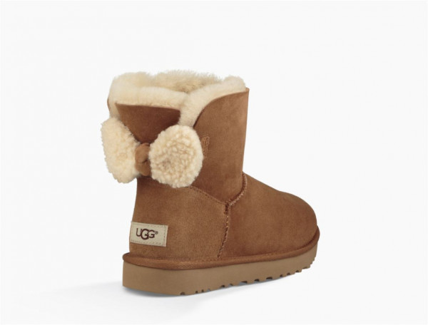 UGG Arielle Damen Boots mit Teddyfell Schleife