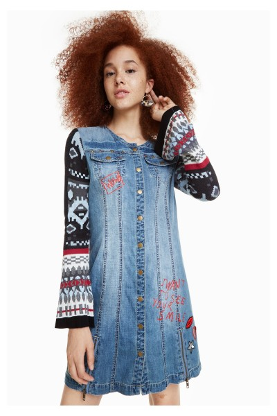 Desigual Nancy Damen Jeanskleid