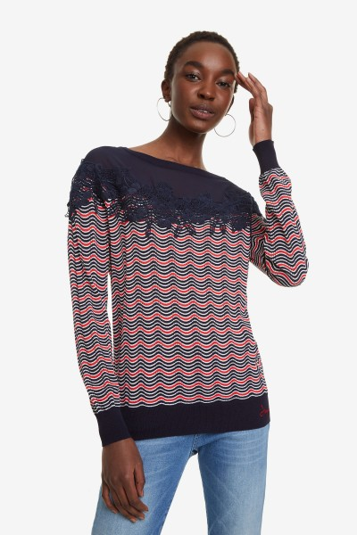 damen pullover desigual jers laura damen pullover pullover   sweater  desigual jers laura damen pullover