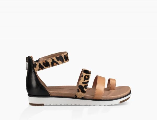 UGG Mina Damen Sandale leopart
