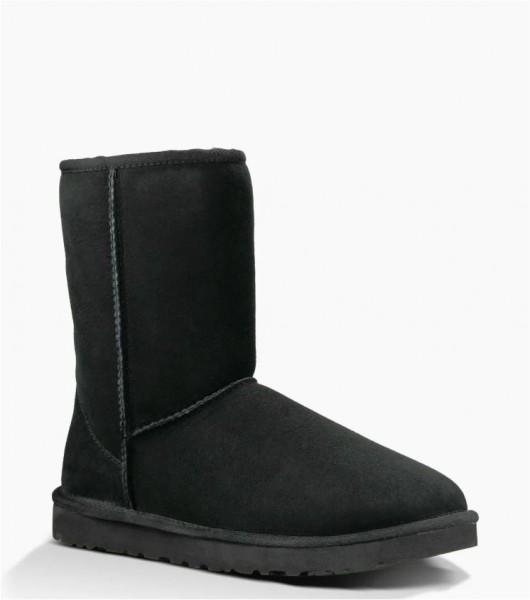 UGG Herren Classic Short Stiefel Boot black