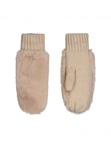 Rino & Pelle Oxo Damen Plüsch Handschuhe, Fäustlinge