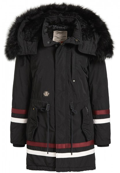 Khujo Timea 2 Damen Parka - C05 Black Stripes