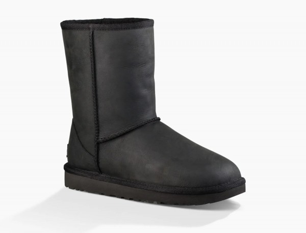 UGG Classic Short II Leather Damen Stiefel