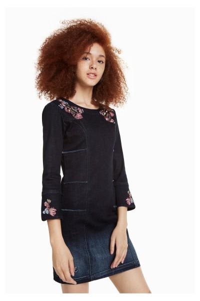 Desigual Laura Damen Jeans Kleid