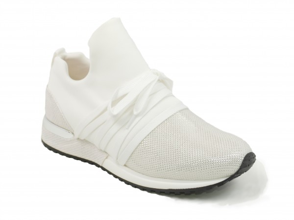 La Strada Damen Sneaker 1804189 mit Glitzerspitze