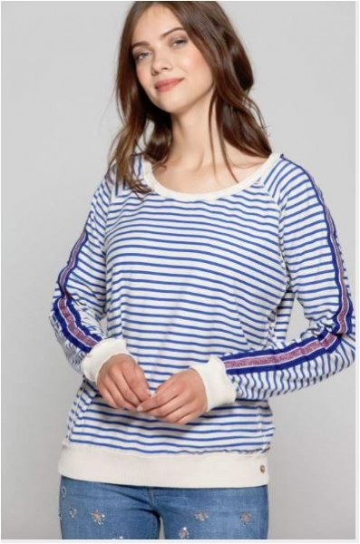 Cotton Candy Iclal 1191- T1-12 Damen Pullover