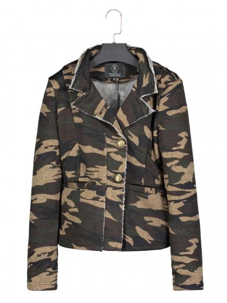 Rino & Pelle Aryala Damen Blazer Jacke - camouflage